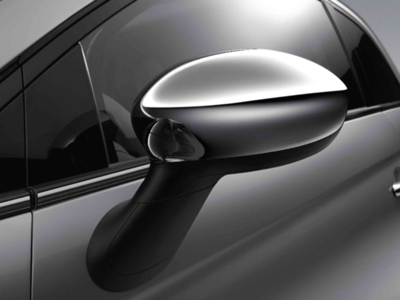 2013 Fiat 500-Pop Chrome Mirror Covers 82212366