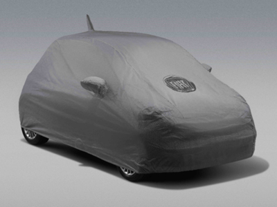 2013 Fiat 500-Pop Vehicle Cover, Full - Gray 82212442