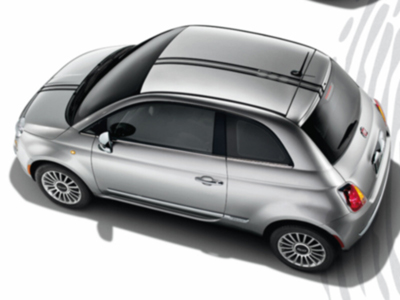 2012 Fiat 500-Abarth Decal Kit - Double Black Thin 82212659