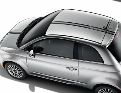 2013 Fiat 500-Sport Decal Kit - Double White Thin 82212667
