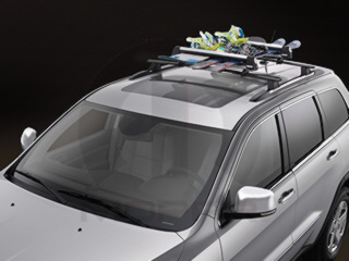 2014 Fiat 500l Trekking Ski And Snowboard Carrier Roof